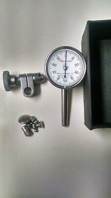 Starrett - Edp50699 Dial Test Indicator With Adjusting Clamp And 7 Extra Tips