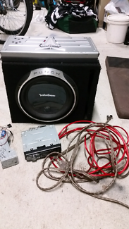 CD Player AMP Sub Woofer