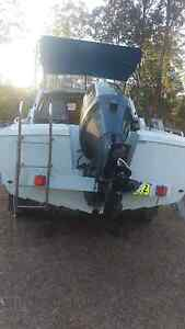 Fibreglass boat with a yamaha outboard Kempsey Kempsey Area Preview