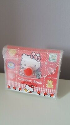Hello Kitty Rare Vintage Mini Colouring Book Set 1995