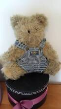TEDDY BEAR WITH OSHKOSH OVERALLS - COLLECTOR'S ITEM Collingwood Park Ipswich City Preview