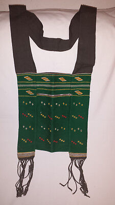 Hand woven Burmese Bag