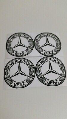 AMG Mercedes Benz Wasserdicht 4 X Aufkleber Sticker Logo Emblem 60mm (6cm) Rund.