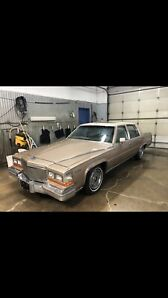 1981 CADILLAC FLEETWOOD BROUGHAM SEDAN 109K EXCELLENT NO TAX