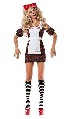 Party King Women's Evil Ragdoll Costume](Evil Rag Doll Costume)