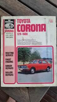 Toyota Corona SP Workshop Manual series 123 Maitland Maitland Area Preview