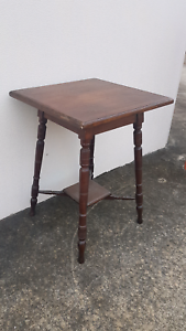 Antique Timber Occasional Table Chermside Brisbane North East Preview