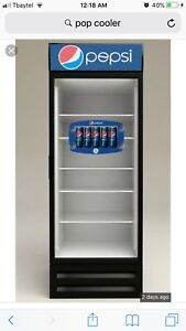 I'm looking for pop cooler fridge or similar working or NOT