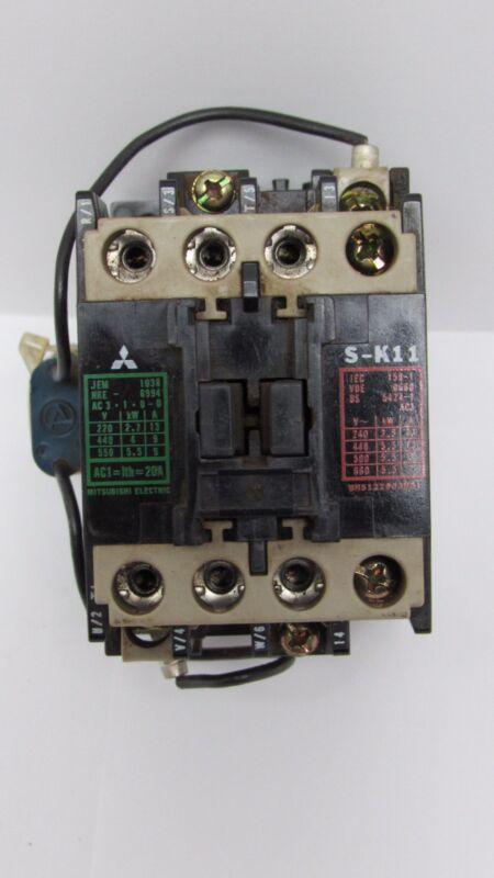 MITSUBISHI ELECTRIC S-K11 CONTACTOR