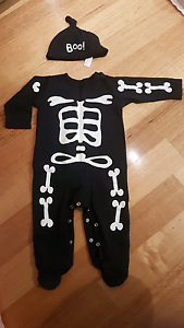 Baby Skeleton Onesie Everton Hills Brisbane North West Preview