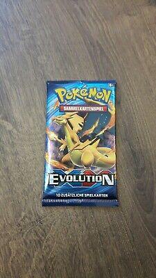 Pokemon - XY Serie 12 - Evolution - 1 Booster - Deutsch 12 Booster