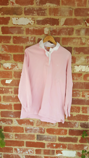 RM Williams Pink Polo Shirt M AUS Made Women's Top