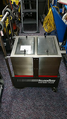 Kleenrite Portable Carpet Steam Machine Extractor 410hxi Plus W Heat