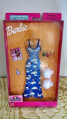 Barbie Lingerie Collection Styles Fashion Avenue and Accessories (2001) 50437