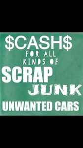 FREE TOWING OF SCRAP CARS $$ CASH ON SPOT $$