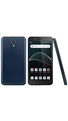 AT&T Prepaid - Axia Cell Phone | 16GB - GSM (Dark Blue)
