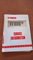 Original Yamaha Servicio Información Manual 2ae-se1 Xv1000 Virago 86 Microficha - yamaha - ebay.es