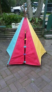 Kids Teepee Cubby House Umina Beach Gosford Area Preview