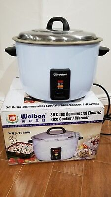 Welbon 30 Cups Commercial Electric Rice Cookerwarmer Wrc-1060w