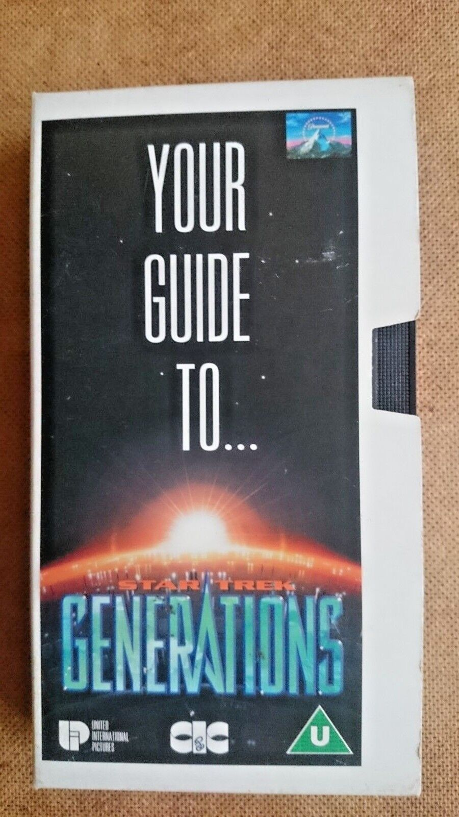 Your Guide to Star Trek Generations  (VHS 1994)