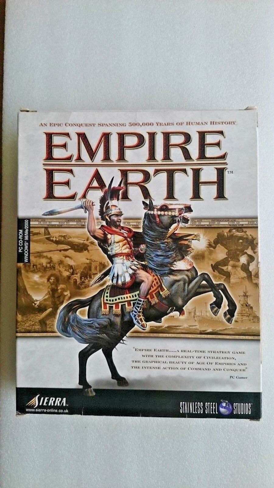 Empire Earth (PC: Windows, 2001)  - Big Box Edition