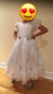 Flower Girl Dress Size 7-9 Years Old