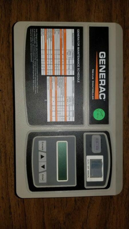 GENERAC Nexus Liquid Cooled Control Panel 0H7668DSRV - READ DESCRIPTION