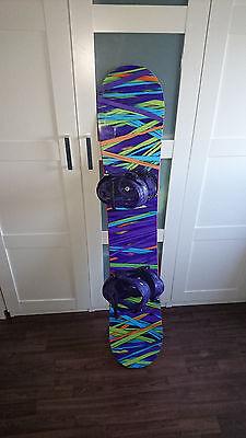 Burton Social 142 Snowboard + Burton Bindung