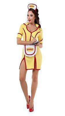 Starline Women's Grand Slam Thank You Ma'am Waitress Costume