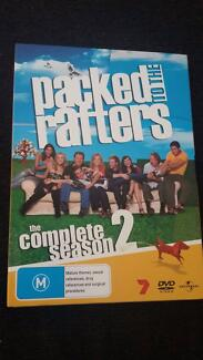 Packed to the Rafters Season 2 DVDs - as new condition