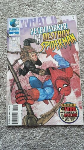 Marvel Comics  What If - No 76 - AUG 1995 Peter Parker had to destroy Spider-Man