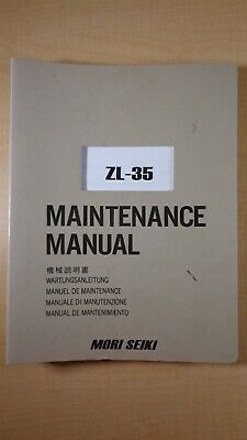 Mori Seiki Zl-35 Maintenance Manual 7d B4