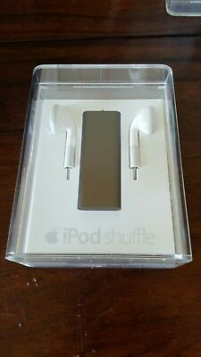 RARE ~ Apple iPod Shuffle 2GB (Black) 3rd Gen., New, Sealed Ipod Shuffle 3rd Gen