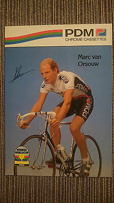 AK m.Druck.AG Marc van Orsouw Team PDM 1990 Rarität