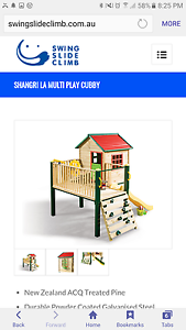 KIDS CUBBY elevated with balcony, slide and sandpit Mentone Kingston Area Preview