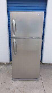 Large LG Fridge Freezer Stainless Steel ( 435 litres ) Cranbourne Casey Area Preview