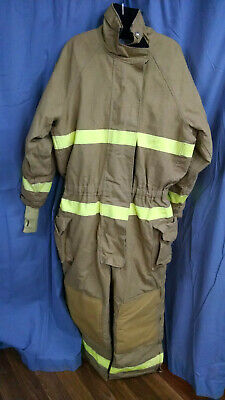 Lion Apparel Firefighter Turnout Coverallsbunker Gear Mens Size Xl-29 2006