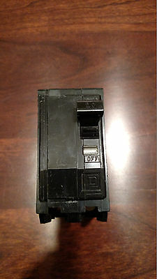 SQUARE D TYPE QOB 220 20 AMP 120/240V CIRCUIT BREAKER FREE SHIPPING!
