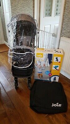 Joie Pact Lite Gray Travel Stroller Pushchair Compact Foldable Good Condition