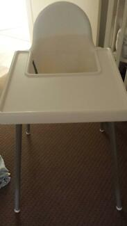 Ikea High Chair with Bag for easy travel- hardly used Baldivis Rockingham Area Preview