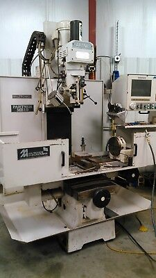 Milltronics Mb-19 A 4 Axis Cnc Bed Mill Wi Digitizing
