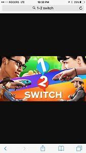 Wanted: 1 2 Switch game