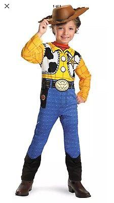 Woody Dress Up Costume (NEW Woody Classic Child Costume Disney Toy Story Halloween Dress Up Sz XS)