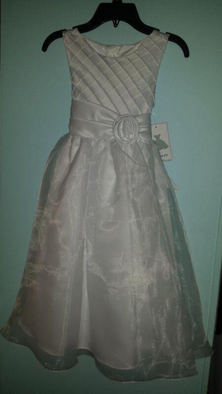 NWT First Communion / Flower girl dress-size 8