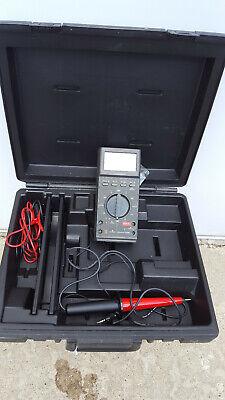 Fluke 27fm Multimeter With Hard Shell Case