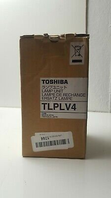 New Genuine Toshiba Tlp-lv4 Projector Lamp