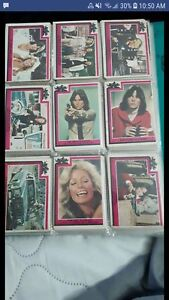 Charlie's Angel's collectible cards and stickers