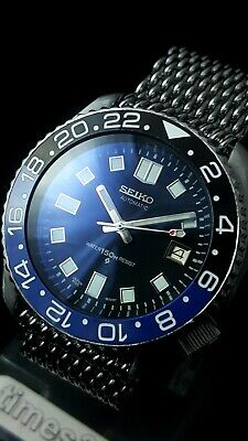 Vintage SEIKO Scuba Diver Watch CUSTOM 7002 - Captain willard Apocalyps 6105 Mod