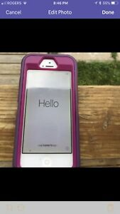 Iphone 5 16 gb with otter box