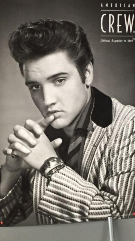 "NEW!! Rare Elvis Presley American Crew advertisement poster 2016 - 24"" x 36"""